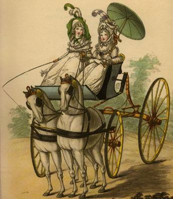 The Regency Horse World (3/5)