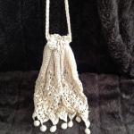 Crocheted reticule