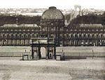 Tulariespalace_arcdeTriompduCarrousel and Arc de Triomphe de l'Etoile (far)
