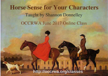 Horse Sense for Your Characters-OCCgraphic2
