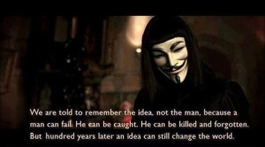 V for Vendetta Quote